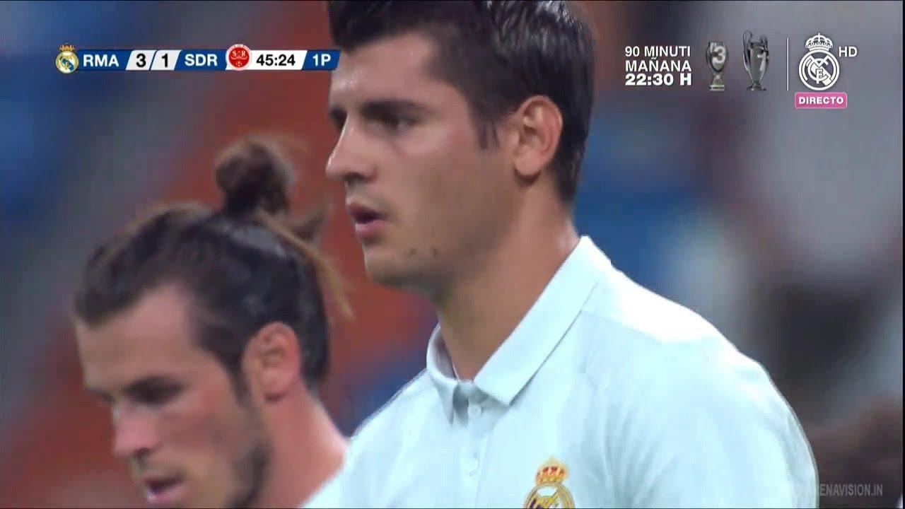 Real Madrid vs Reims 3-1 (Trofeo Santiago Bernabeu) | Alvaro Morata Real Madrid vs Meta
