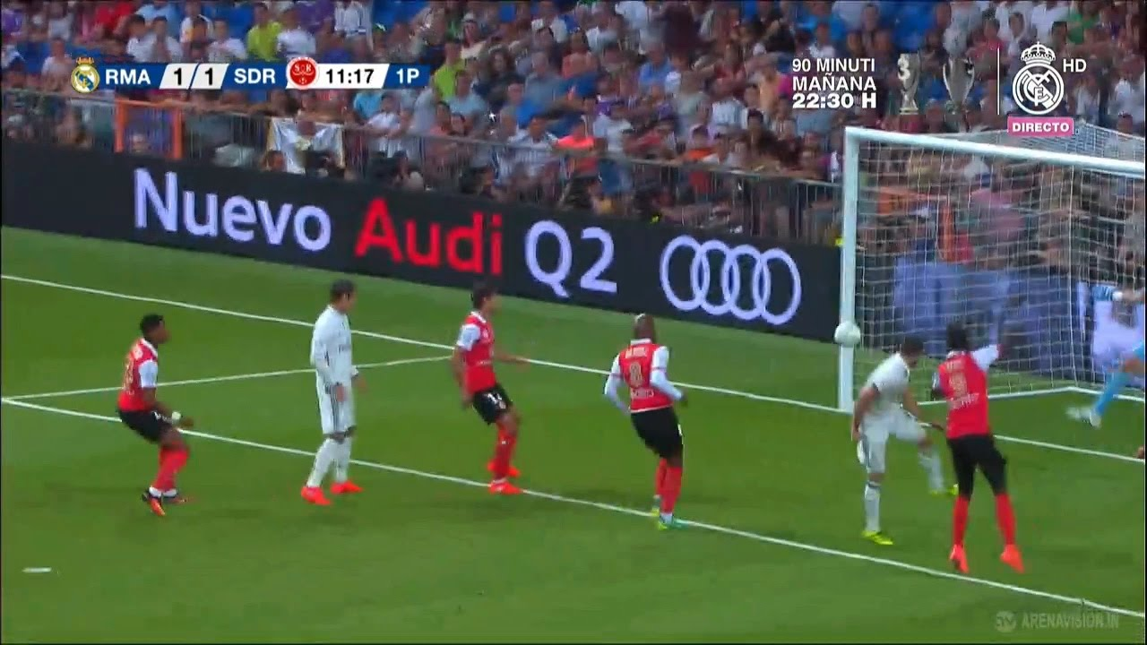 Real Madrid vs Reims 1-1 (Trofeo Santiago Bernabeu) | Meta Nacho