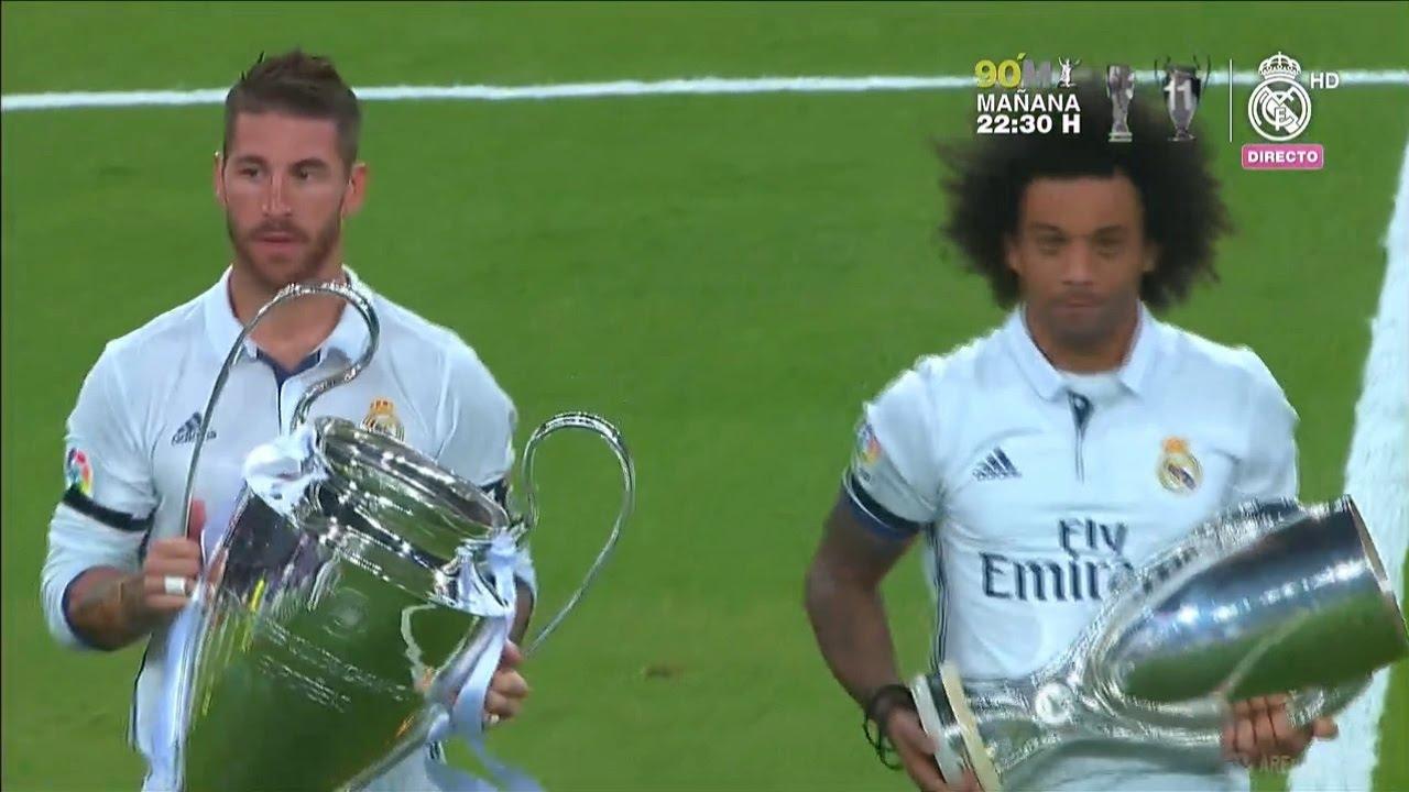 Real Madrid vs Reims 5-3 (Trofeo Santiago Bernabeu) HD Tutti obiettivi e le modalità 16/08/2016