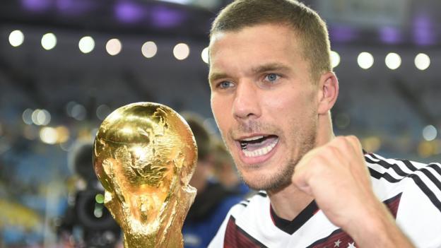 Lukas Podolski: Germania l'attaccante si ritira dal calcio internazionale