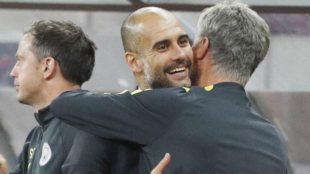 Manchester City: Pep Guardiola dice che il suo lato quasi in Champions League