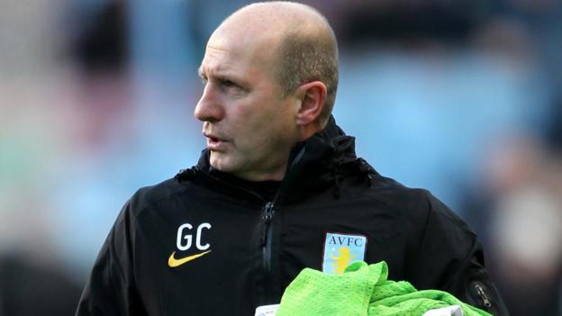 azienda parte Gordon Cowans Aston Villa con la leggenda Coppa Europa vincitore
